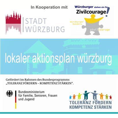 Logo LAP Würzburg - alle Logos quadratisch groß