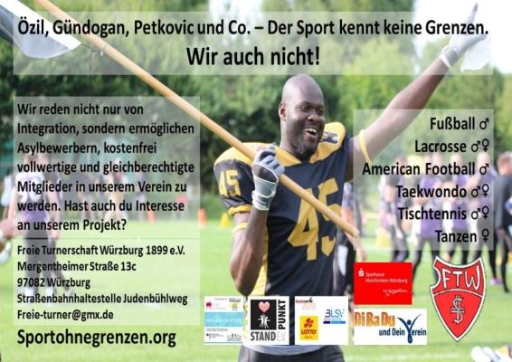 Sport ohne Grenzen Flyer