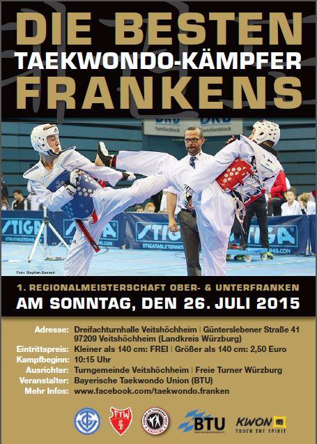 Taekwondo fränkische Meisterschaft 2015